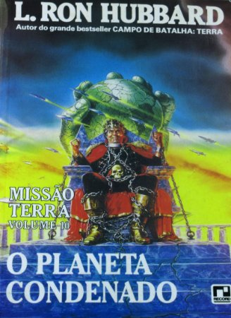 O Planeta Condenado L. Ron Hubbard Editora Record