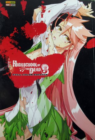 Highschool of Dead #03 Editora Panini Comics