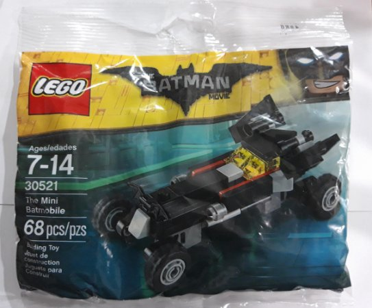 Lego DC Batman The Movie Batman the Mini Batmobile 30521 68 Peças