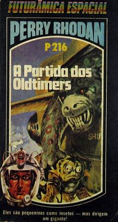 Perry Rhodan P216 A Partida dos Oldtimers Edit. Ediouro