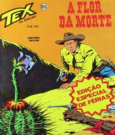 Tex #65 A Flor da Morte Edit Vecchi
