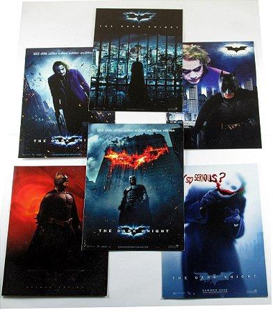 DC Batman TDK Pack com 06 Cartões Postais 15 X 15 Cm