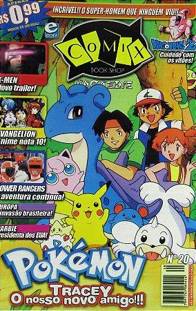 Revista Comix Book Shop #20 Pokemon Evangelion Power Rangers Escala