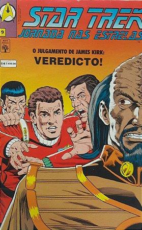 Star Trek Jornada nas Estrelas #9 Ed. Abril