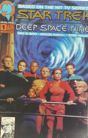 Star Trek Deep Space Nine #1 Importada