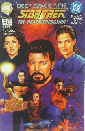 Star Trek: Deep Space Nine/Next Generation #2 Importada
