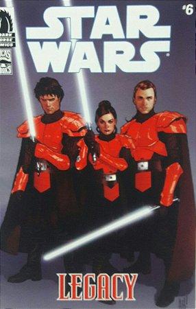 Star Wars Legacy #6 Hasbro Comic Two-Pack Importada