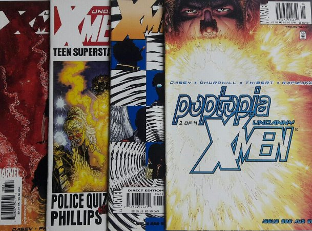 Uncanny X-Men - Poptopia Completa  Importada