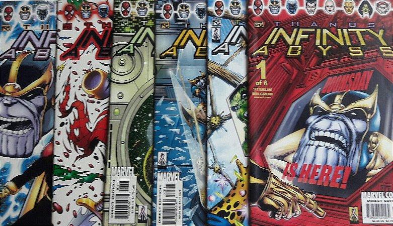 Thanos: Infinity Abyss - Mini-Série Completa Importada