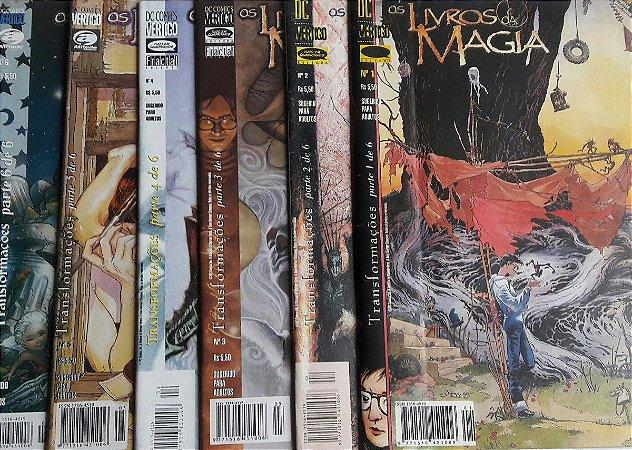 Os Livros da Magia - Ed. Tudo em Quadrinhos