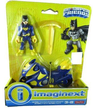 Fisher-Price Imaginext DC Super Friends Batgirl & Moto Figure