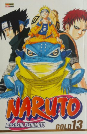 Naruto Gold #13 - Ed. Abril