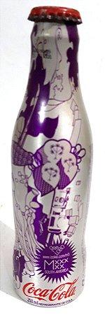 Garrafa Metal Temática Coca-Cola Spoleto Modelo 02