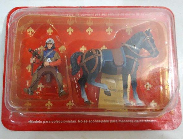 Miniatura Metal Cavaleiros da Idade Média - Edit Altaya