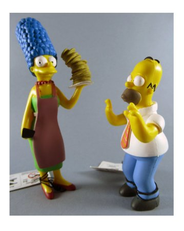 Fox 2007 Os Simpsons Homer e Marge Set com 02