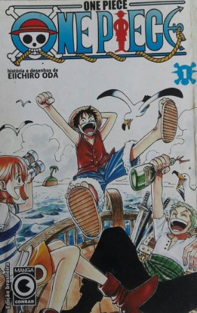 One Piece #1 ao #34 - Ed. Conrad