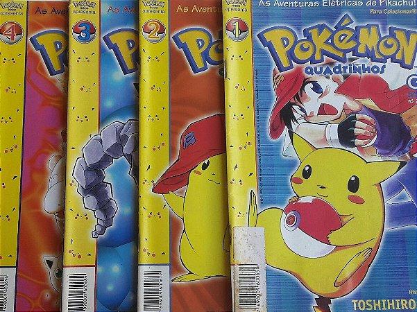Pokémon Quadrinhos - Ed. Conrad