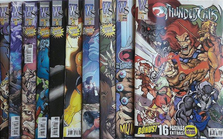 Thundercats #1 ao #10 - Ed. Panini