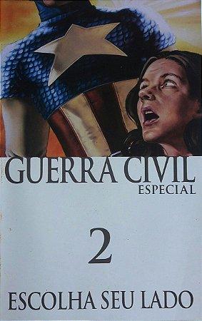 Guerra Civil Especial #2 Escolha Seu Lado - Ed. Panini
