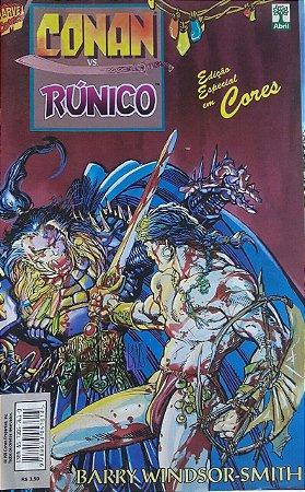 Conan Vs Runico - Ed. Abril