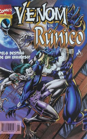Venom Vs Runico - Ed. Abril