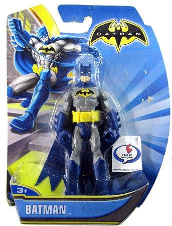 Mattel Batman Sem Limites Uniforme Azul e Cinza