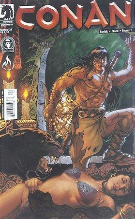 Conan o Cimério #24 - Ed. Mythos