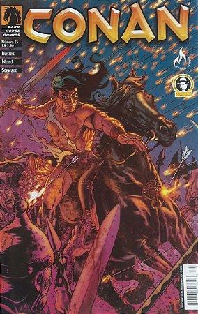 Conan o Cimério #25 - Ed. Mythos