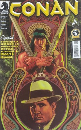 Conan o Cimério #28 - Ed. Mythos