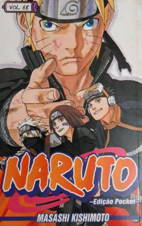 Naruto #68 Edição Pocket Panini Comics