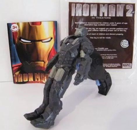 Burger King Marvel Iron Man War Machine lacrado