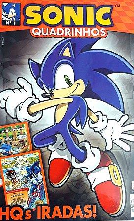Sega Sonic Quadrinhos #01 Editora Alto Astral
