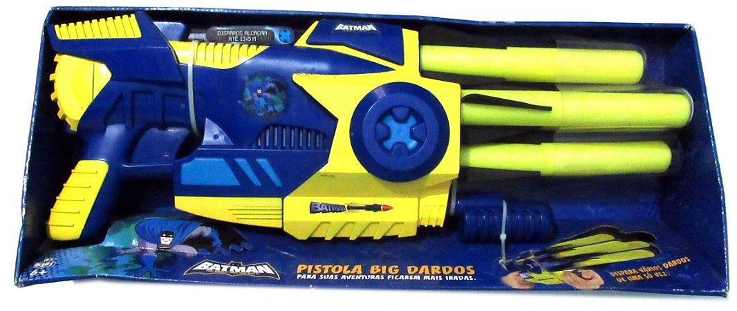 By Kids DC Batman Bravos e Destemidos Pistola Big Dardos Estilo Nerf