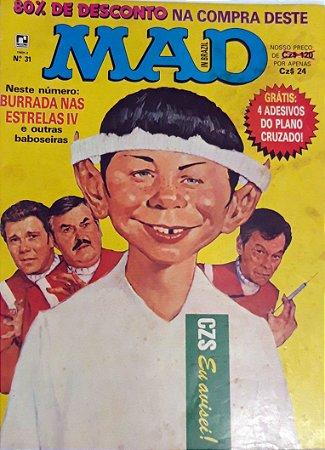 MAD In Brazil #31 Editora Record