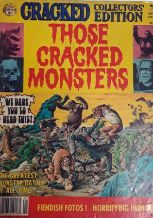 Cracked Collector´s Edition Sept 1982 Those Cracked Monsters Importado