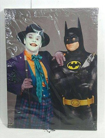 Quadro Batman e Coringa - Tim Burton