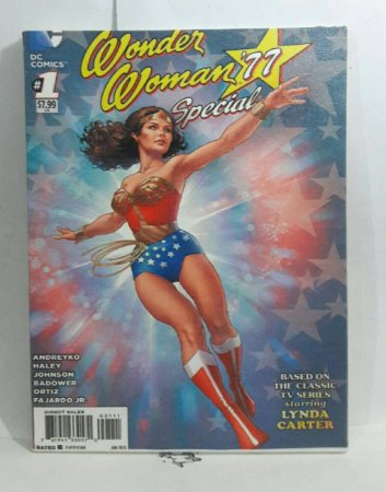 Quadro Wonder Woman Comics