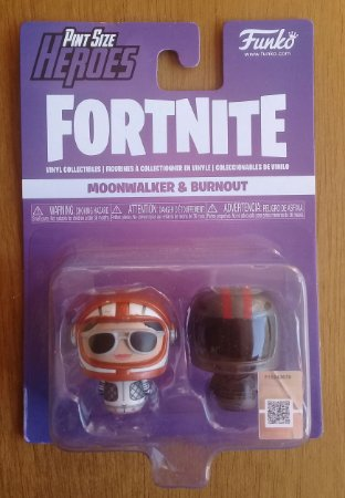 Fortnite: Moonwalker e Burnout - Pint Size Heroes - Funko