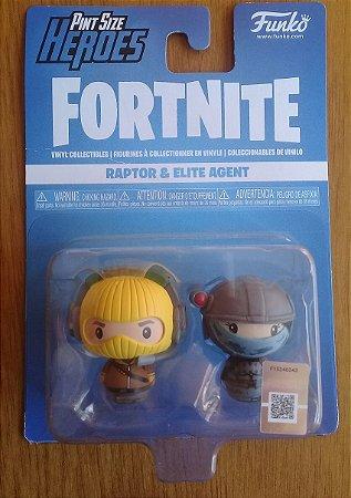 Fortnite: Raptor e Elite Agent - Pint Size Heroes - Funko