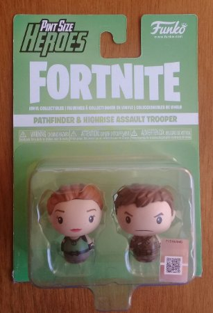 Fortnite: Pathfinder e Highrise Assault Trooper - Pint Size Heroes - Funko