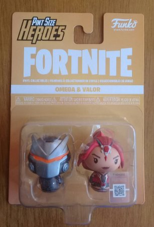 Fortnite: Omega e Valor - Pint Size Heroes - Funko
