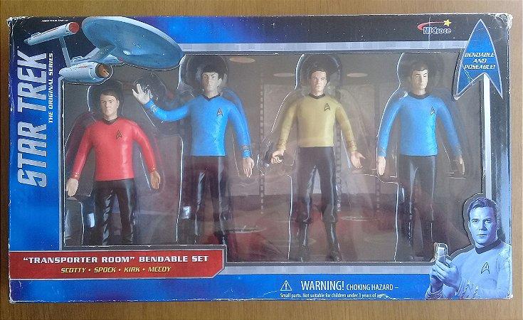 Star Trek The original Series - Tranporter Room Bendable Set