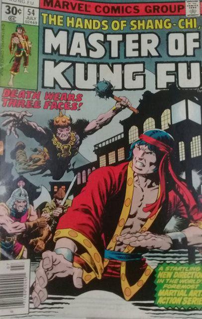 Master of Kung Fu #54 - Importada