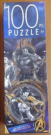 Quebra Cabeça Ordem Negra - Vingadores Guerra Infinita - 100 Peças