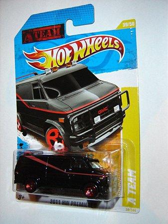 Hot Wheels Furgão Esquadrão Classe A 1/64