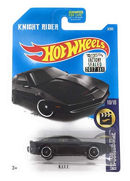 Hot Wheels K.I.T.T. Super Máquina 1/64