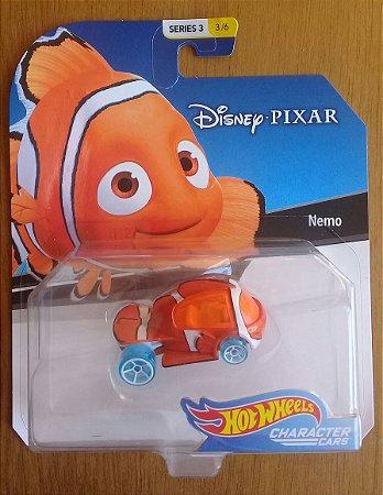 Hot Wheels Character Cars Nemo Disney 1/64