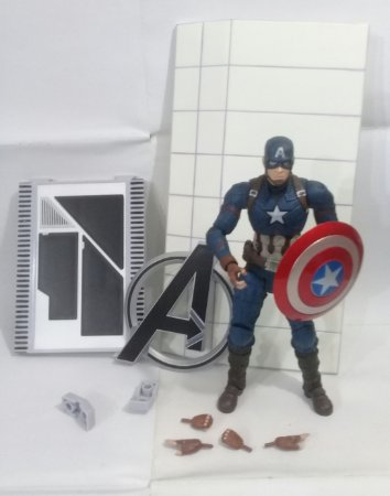 Marvel Select Capitão America Guerra Civil