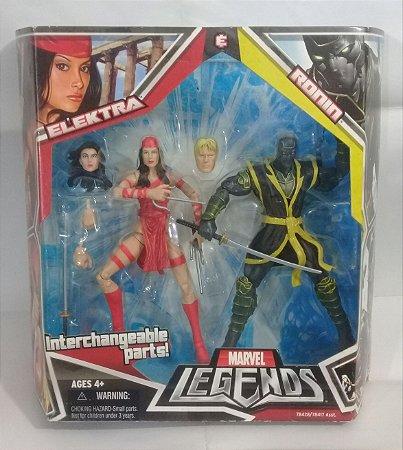 Marvel Legends Two-Pack Elektra e Ronin