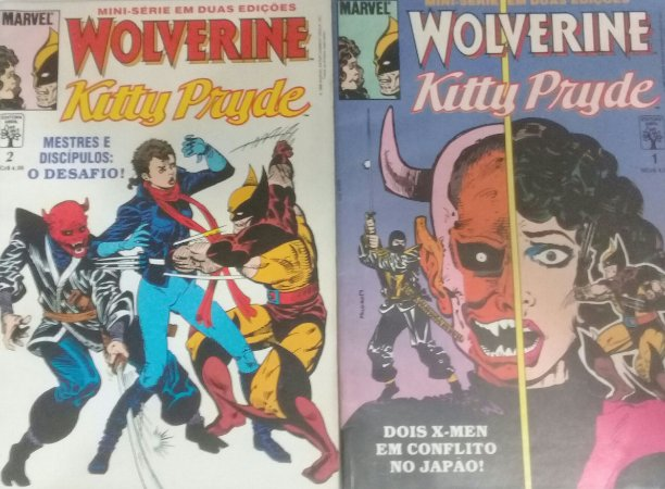 Wolverine Kitty Pryde - Ed. Abril